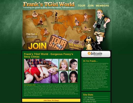 franks t-girl world franks-tgirlworld.com