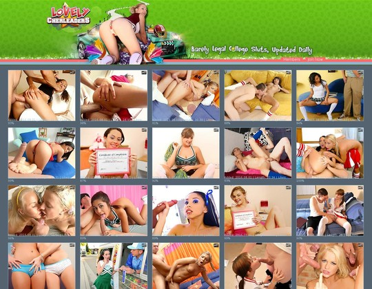 lovelycheerleaders.com