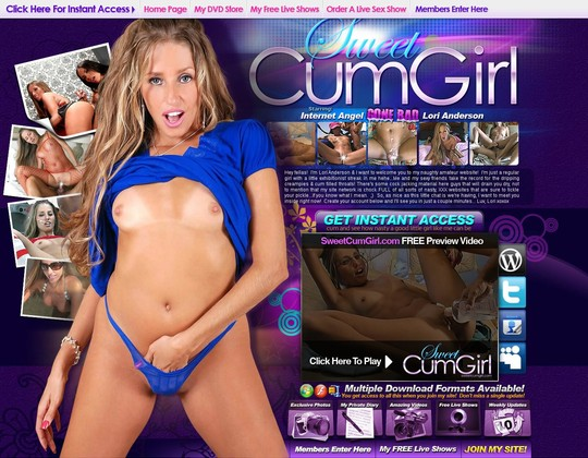 Sweet Cum Girl