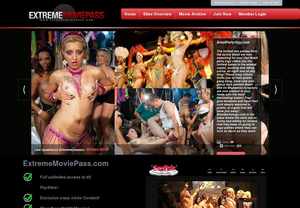 Extreme Movie Pass