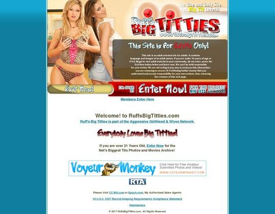 Ruffs Big Titties
