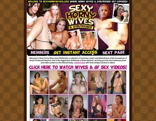 Sexy Horny Wives