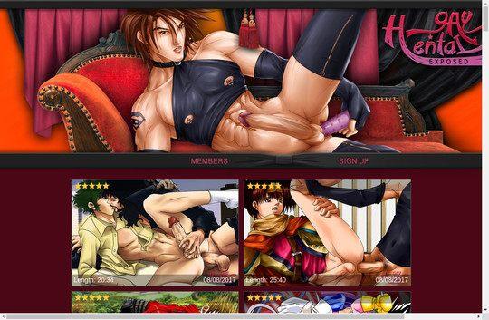 Gay Hentai Exposed
