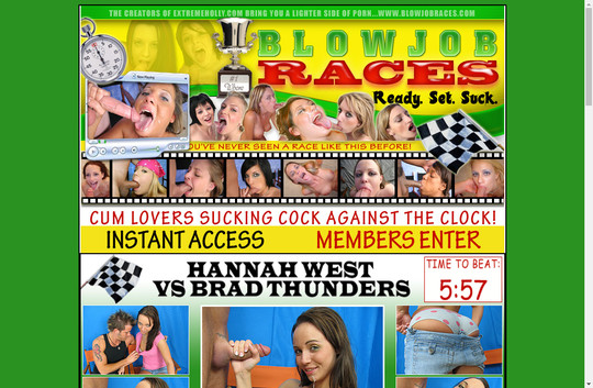 Blowjob Races