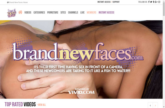 Brand New Faces