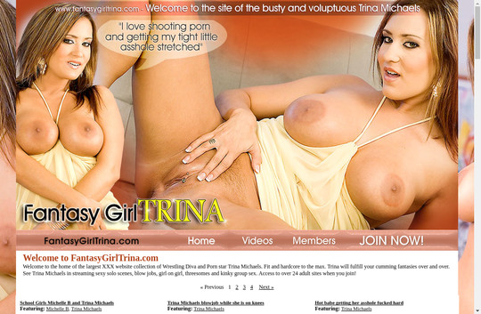 Fantasy Girl Trina Michaels