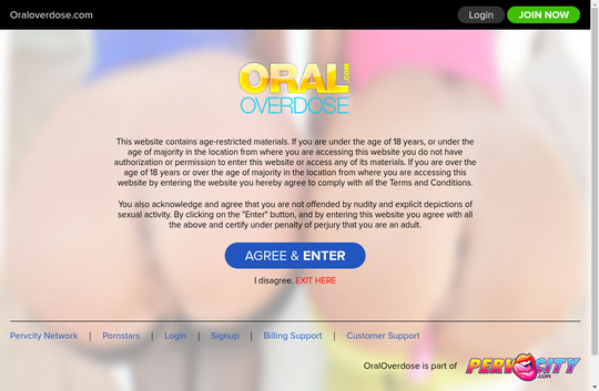 Oral Overdose
