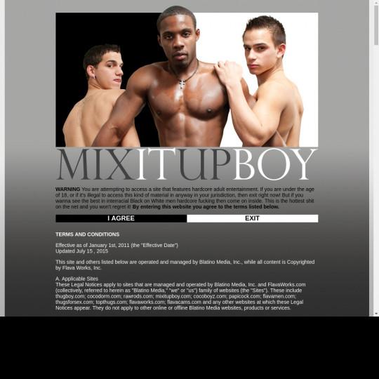 Mix It Up Boy
