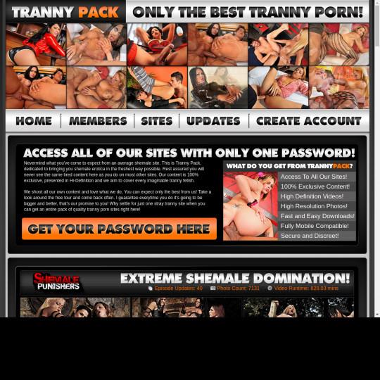 tranny pack