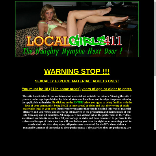 local girls 411