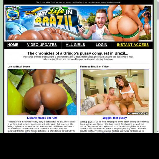 my life in brazil