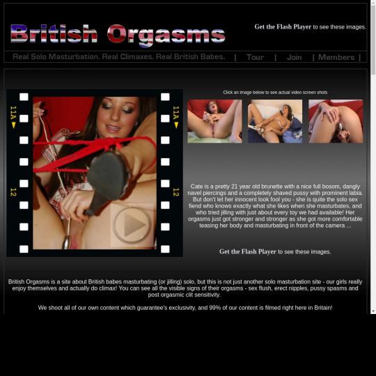 british orgasms